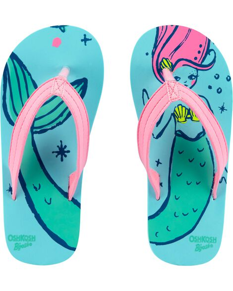 OshKosh Mermaid Flip Flop