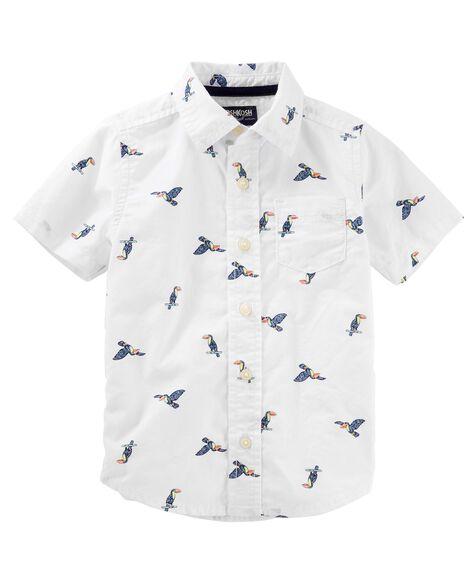 Toucan Button Front Shirt
