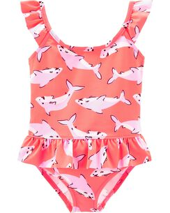 fbfed574e7 Baby Girl Swimwear & Bathing Suits | OshKosh | Free Shipping