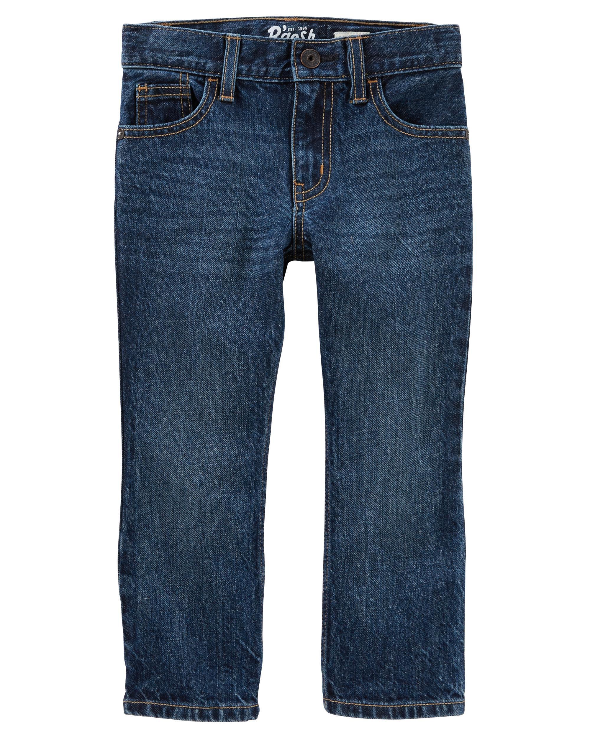 Bootcut Jeans Dark Indigo Wash Oshkosh Com
