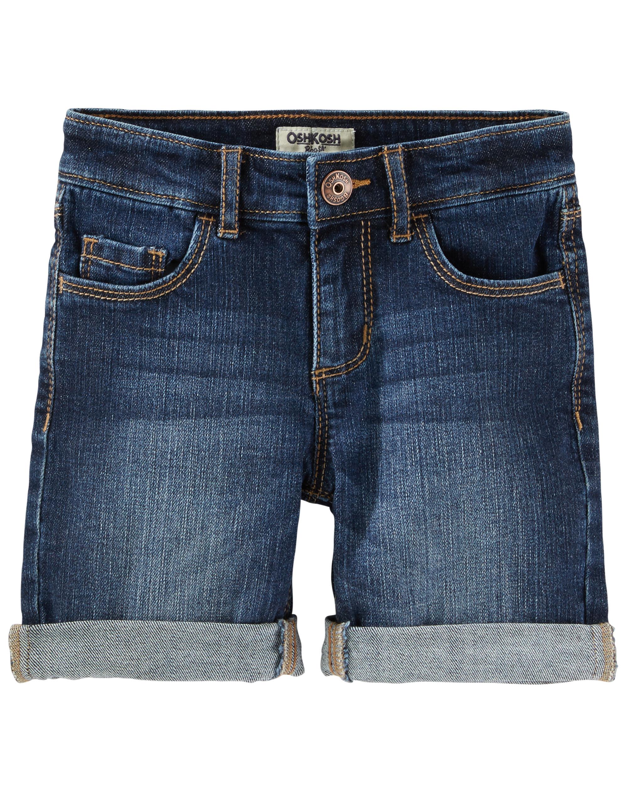 Denim Shorts - Dragonfly Blue Wash