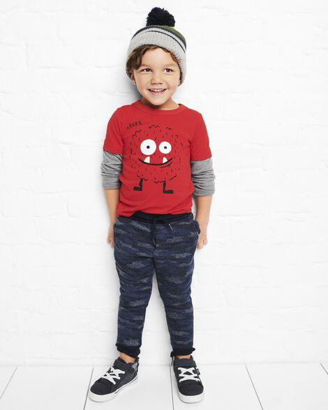Sweater Fleece Camo Joggers