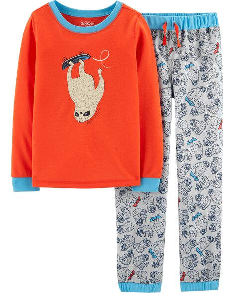 2-Piece Sloth PJs
