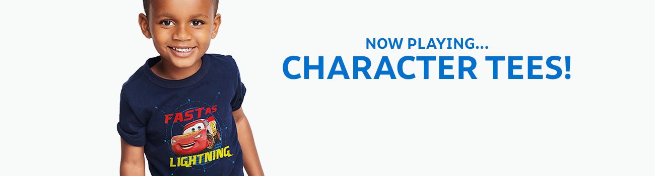 character tees