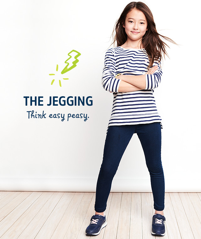 THE JEGGING | Think easy peasy.
