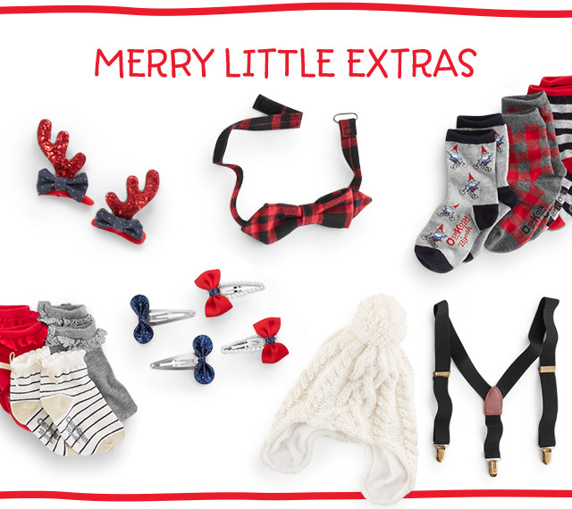 MERRY LITTLE EXTRAS