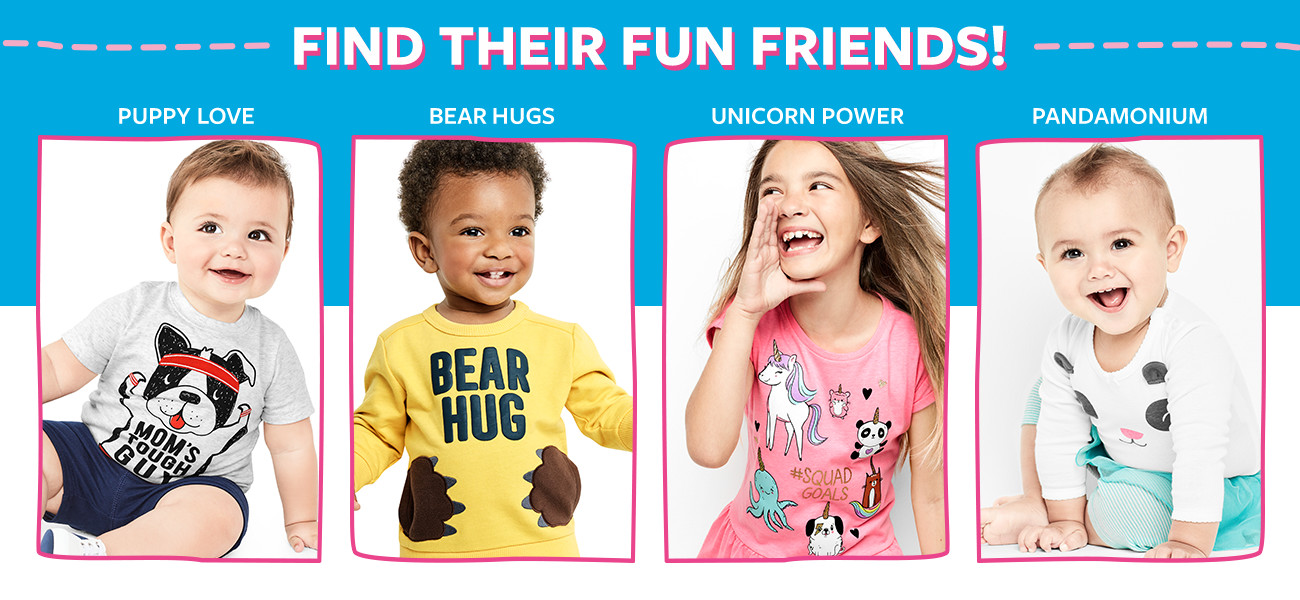 find their fun friends!