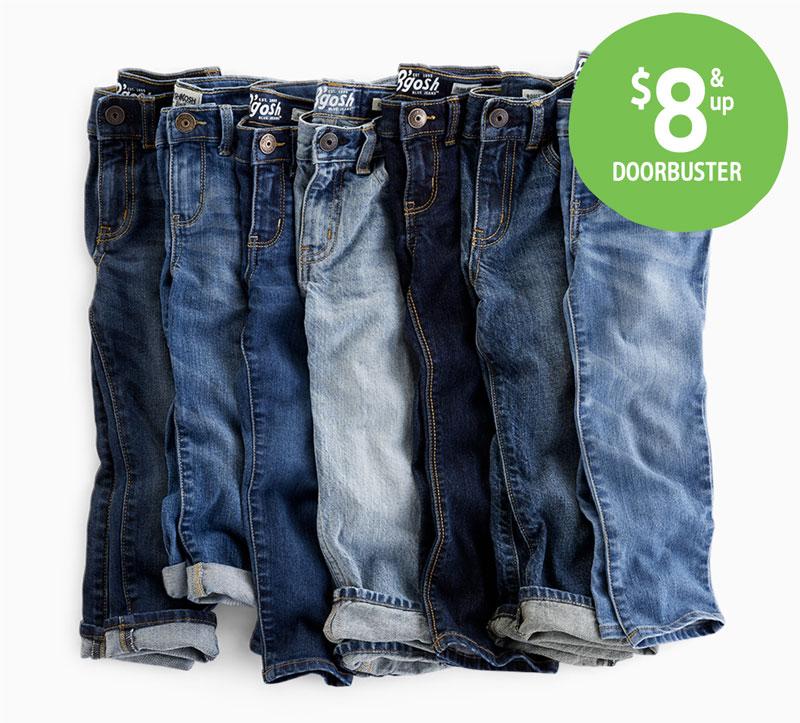 $8 & up DOORBUSTER