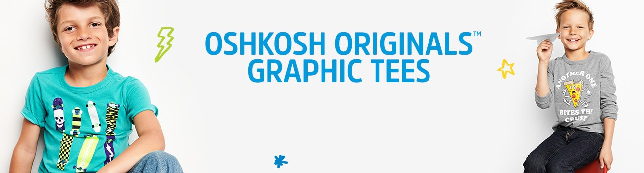 OSHKOSH ORIGINALS GRAPHIC TEES