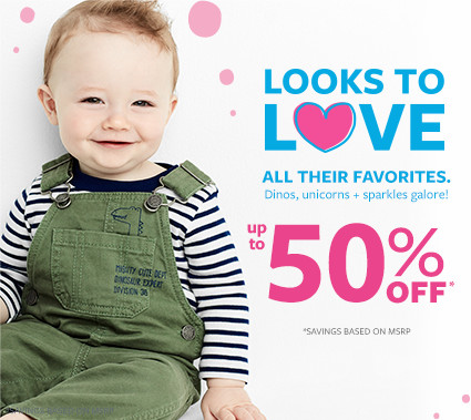 looks to love | all their favorites up to 50% off msrp