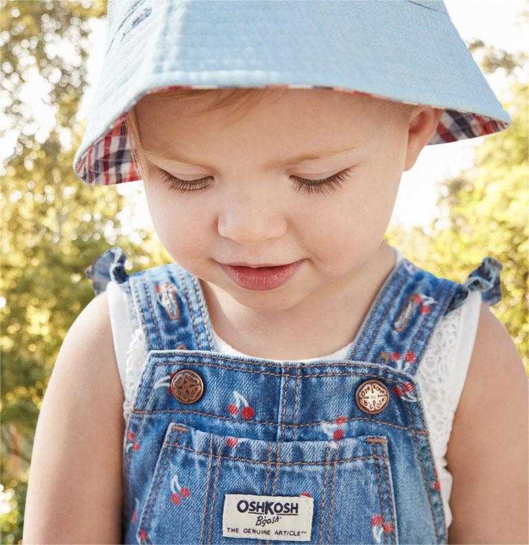 OshKosh Baby-Girls Worlds Best Overalls Overalls