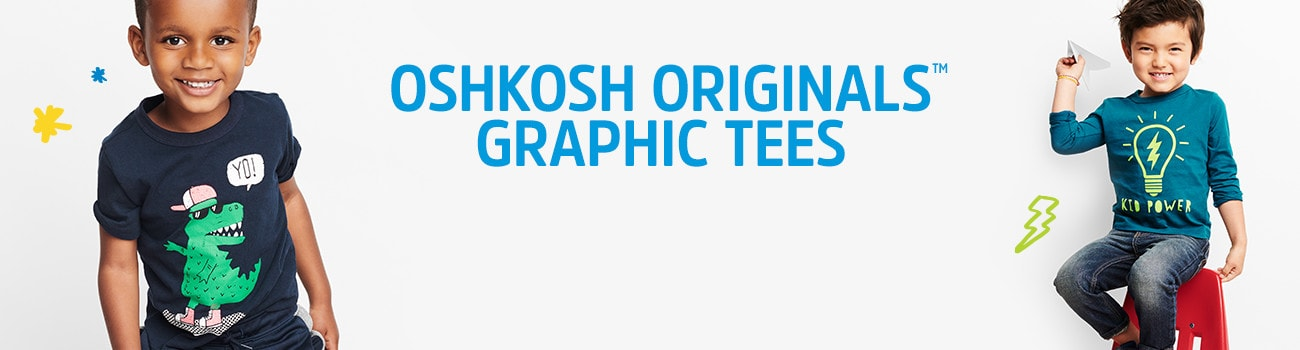 OSHKOSH ORIGINALS GRAPHIC TEES