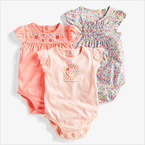 61e7d6a9f20a2 Baby Girl Clothes. SHOP BY SIZE