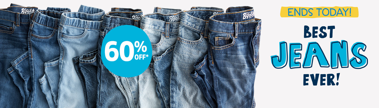 ENDS TODAY! 60% OFF* BEST JEANS EVER!