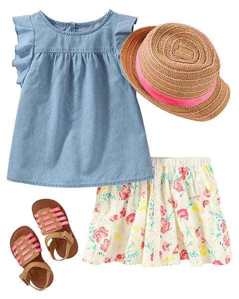 Toddler Girl Clothes & Outfits   Free Shipping   OshKosh