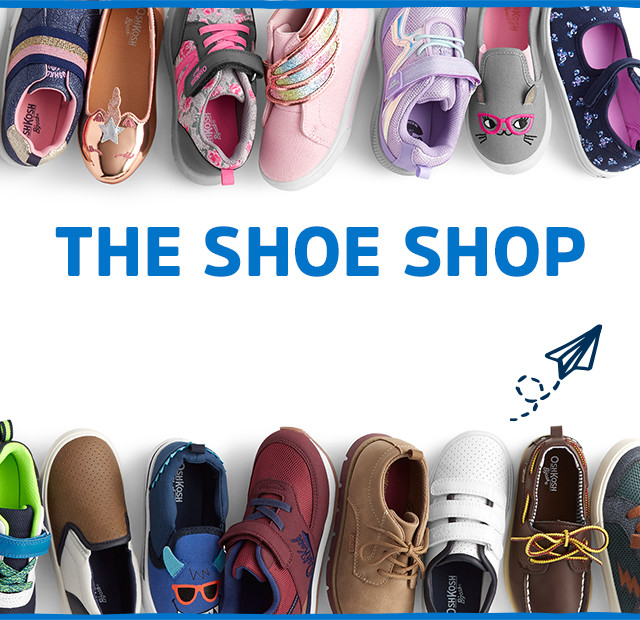 b62330b1bdaf Kids Shoes & Boots, Baby & Toddler Shoes | Free Shipping | OshKosh