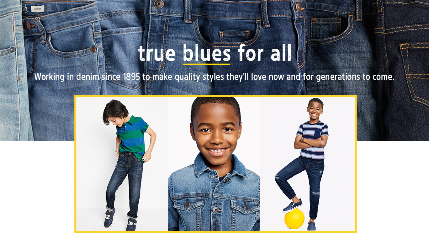 Boy Denim Oshkosh Free Shipping