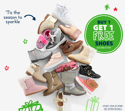 'Tis the season to sparkle | BUY 1 GET 1 FREE◊ SHOES DOORBUSTER | ◊FIRST ITEM AT MSRP. SEE OFFER DETAILS.