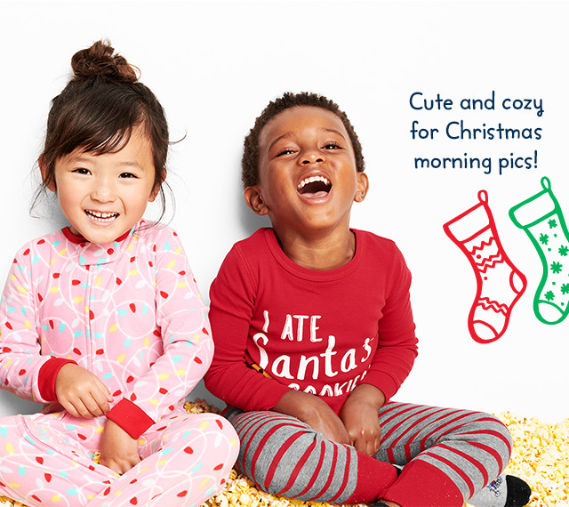 Cute and cozy for Christmas morning pics!