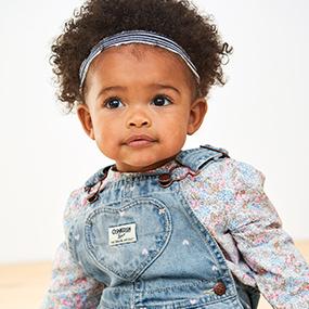OshKosh BGosh Baby Girls Worlds Best Overall