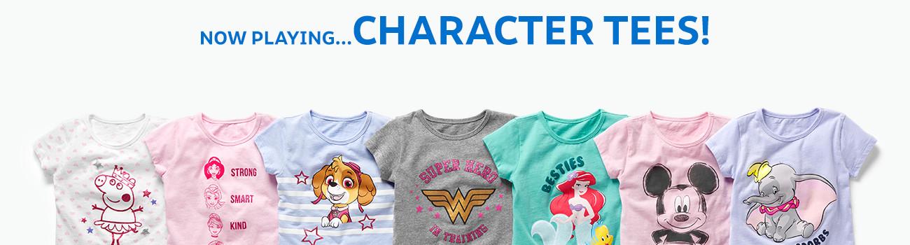 2fbec7e82 Toddler Girl Marvel, WB & Disney® Shirts   OshKosh.com