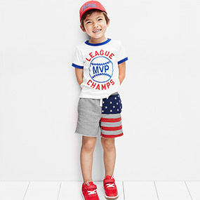 AMERICANA Toddler Boy Pjs