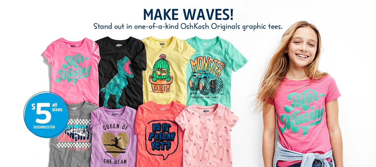 9d44e2efa Kids Clothes, Boy, Girl & Toddler Clothes | OshKosh B'gosh
