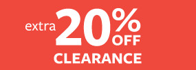 20% Off Clearance