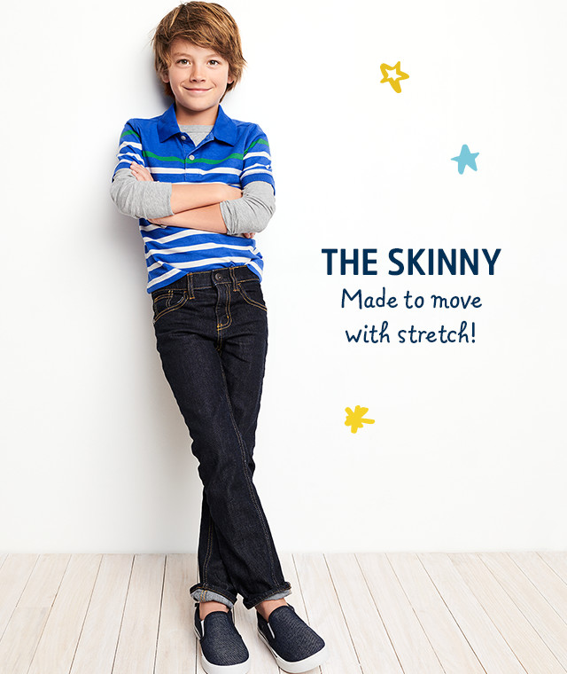 THE SKINNY | Made to move with stretch!