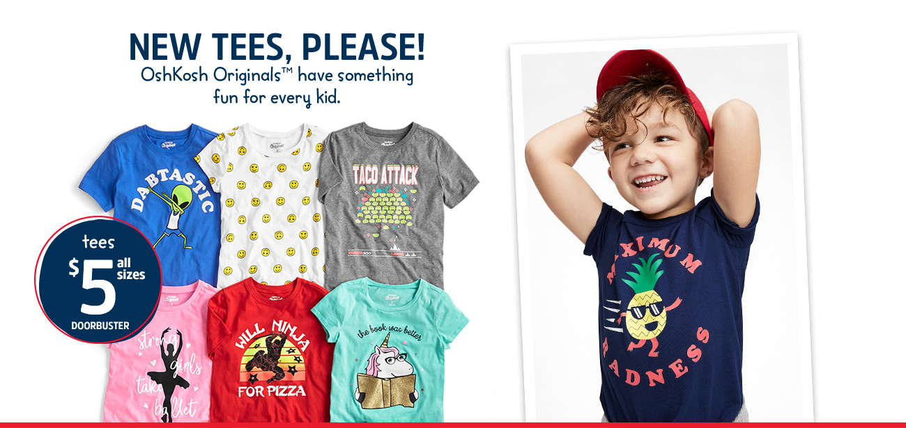 b3a7d3a7 Kids Clothes, Boy, Girl & Toddler Clothes | OshKosh B'gosh