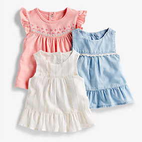 3a6fbfdd30b4a Baby & Newborn Girl Clothes | OshKosh | Free Shipping