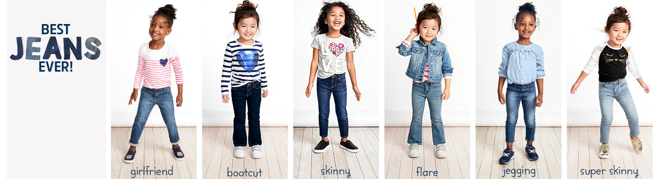 BEST JEANS EVER! girlfriend - bootcut - skinny - flare - jegging - super skinny