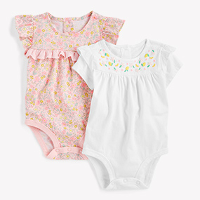 Baby newborn summer clothes girls party bodysuit cotton jumpers One-Pieces cute
