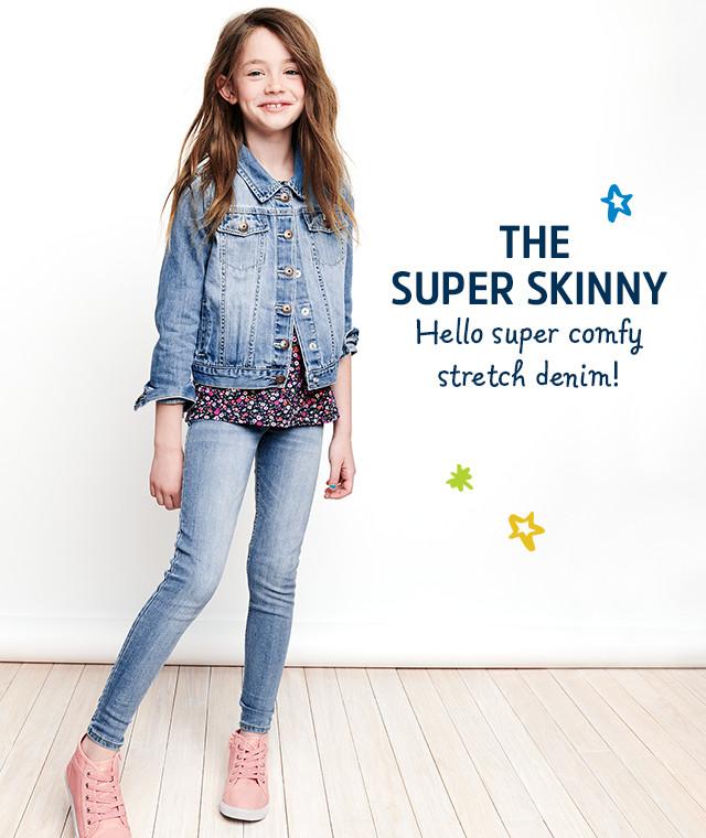 THE SUPER SKINNY | Hello super comfy stretch denim!
