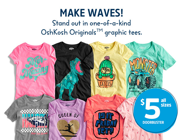 908777d53615 Kids Clothes, Boy, Girl & Toddler Clothes | OshKosh B'gosh