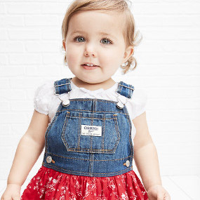 8baae3ea8 Baby & Newborn Girl Clothes | OshKosh | Free Shipping