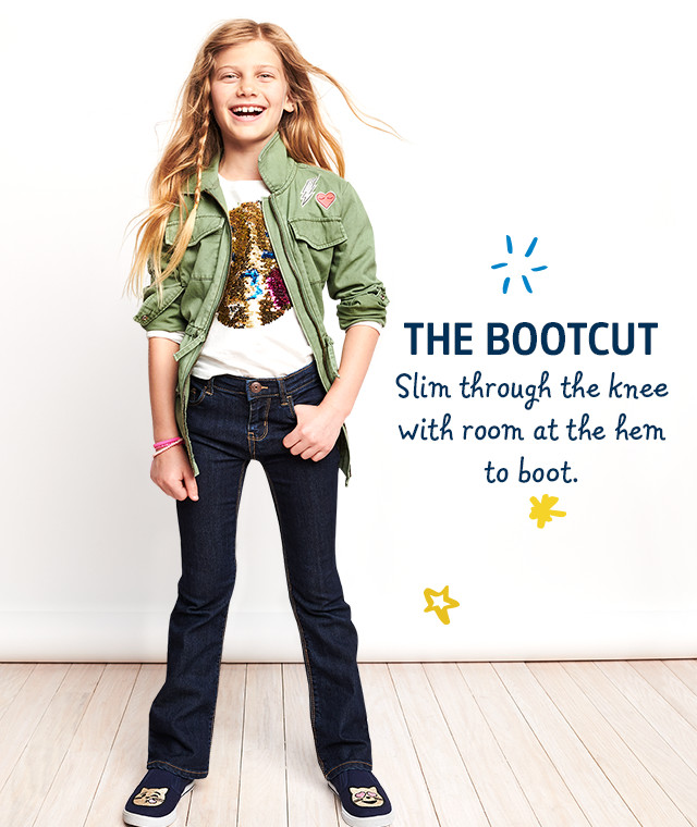 THE BOOTCUT | Slim through the knee with room at the hem to boot.