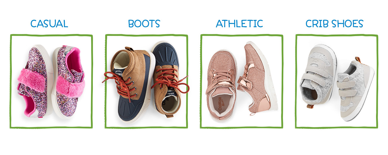 CASUAL | BOOTS | ATHLETIC | CRIB SHOES