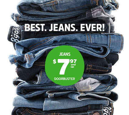BEST JEANS EVER! | JEANS $7.97 and up DOORBUSTER