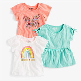 3c431536723b6 Baby Girl | OshKosh | Free Shipping