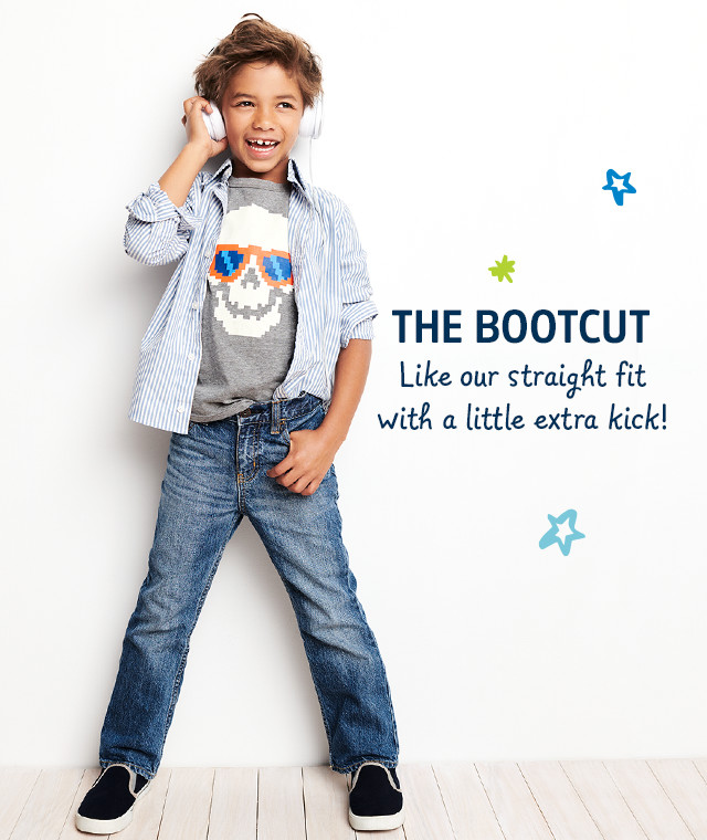 THE BOOTCUT | Like our straight fit with a little extra kick!