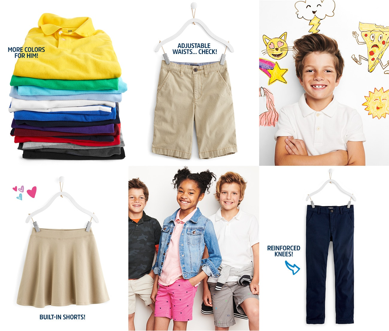 fe1eacca5304 School Uniforms for Kids   Toddlers