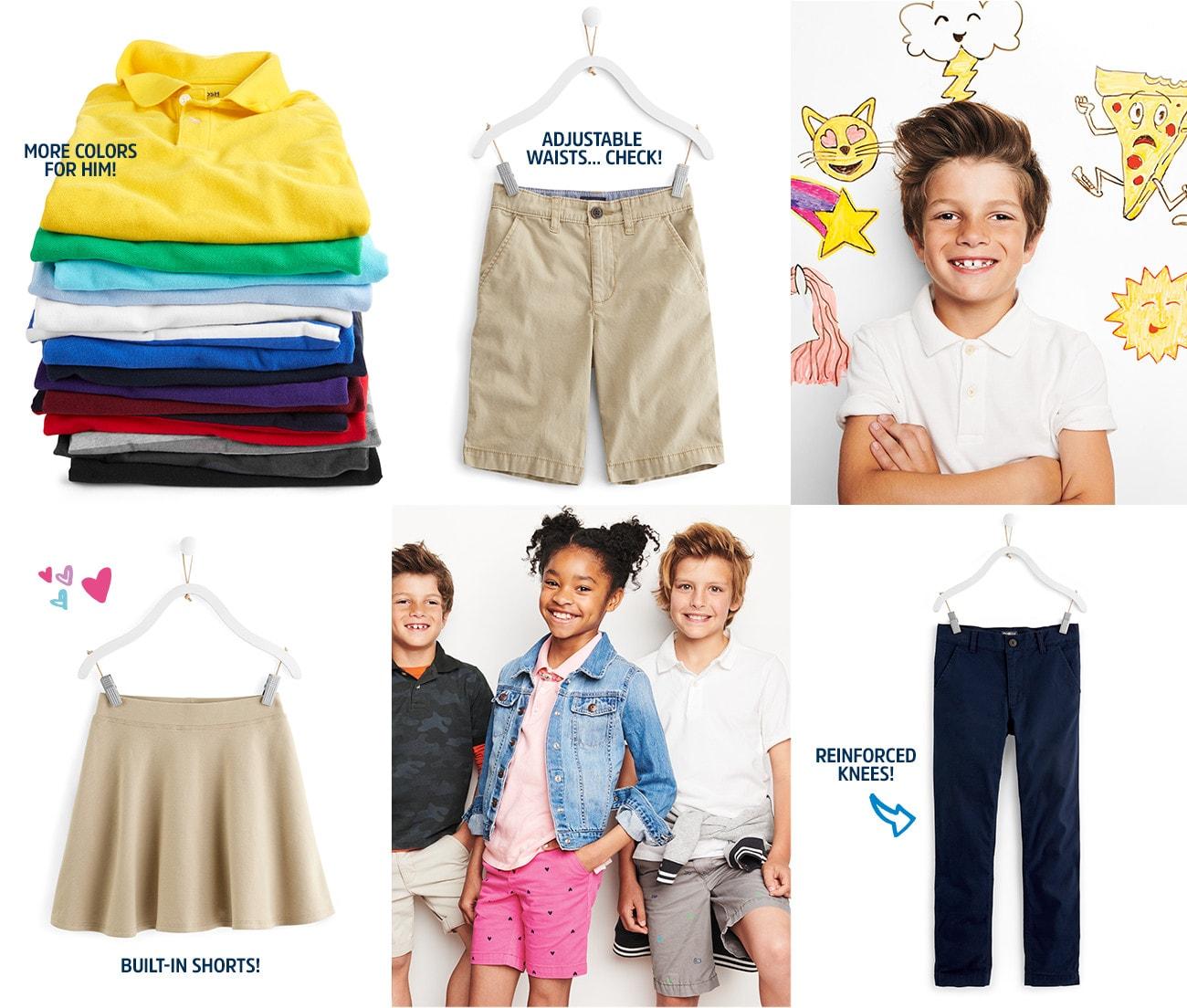 School Uniforms For Kids Amp Toddlers Oshkosh Free Shipping