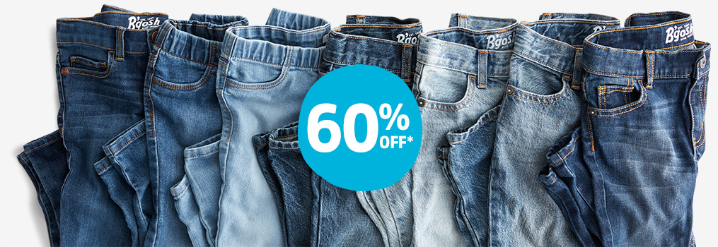 60% OFF* DENIM