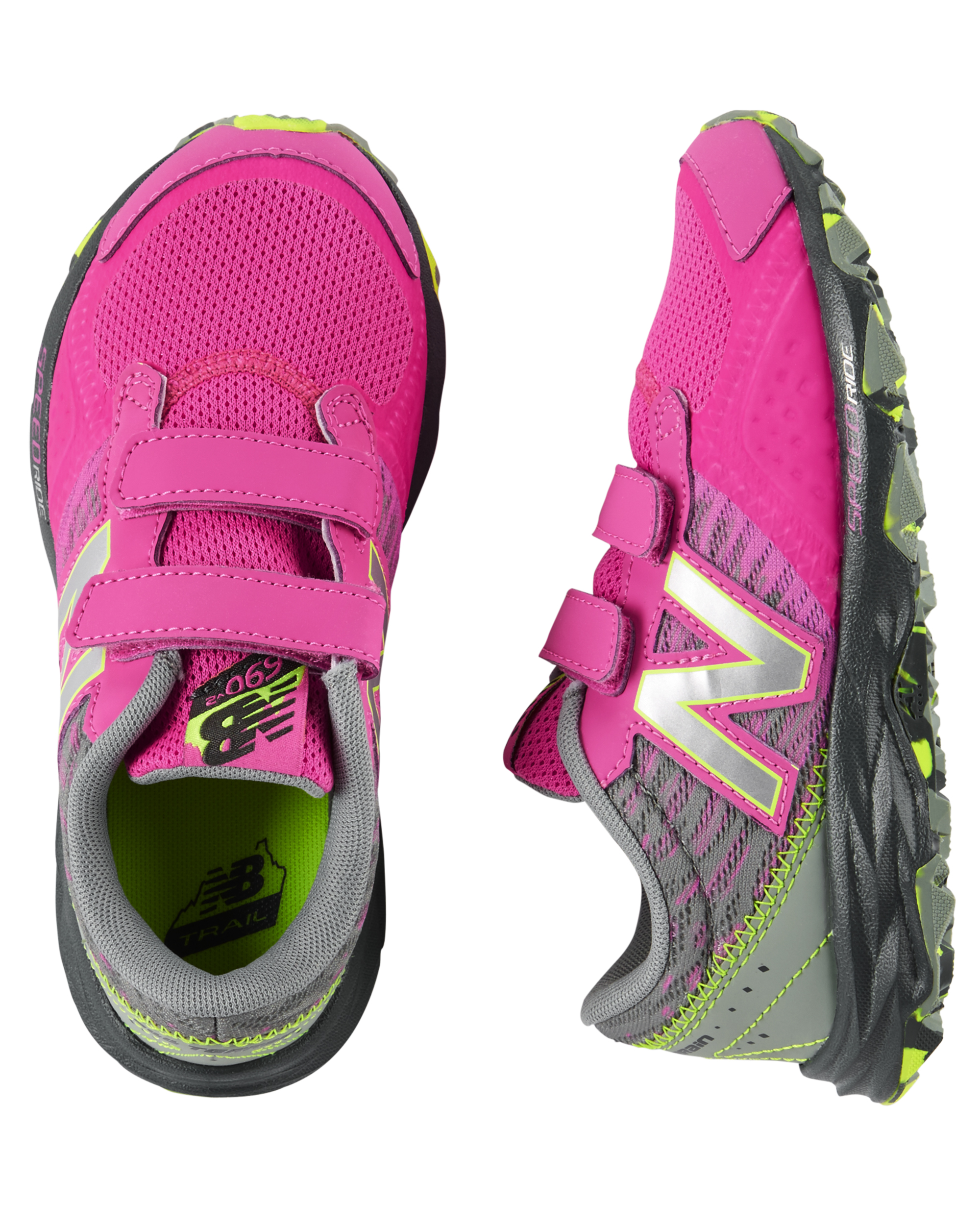 New Balance Hook and Loop 690v2 Trail Sneakers |
