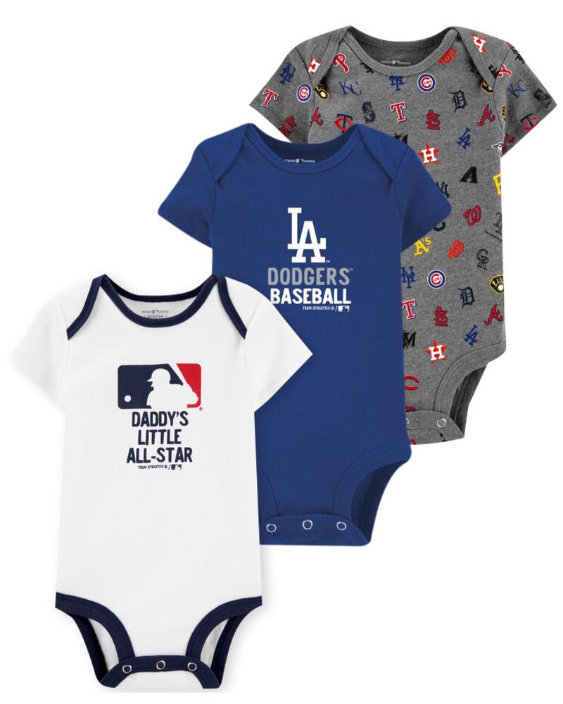 Oshkoshbgosh 3-Pack MLB Bodysuits