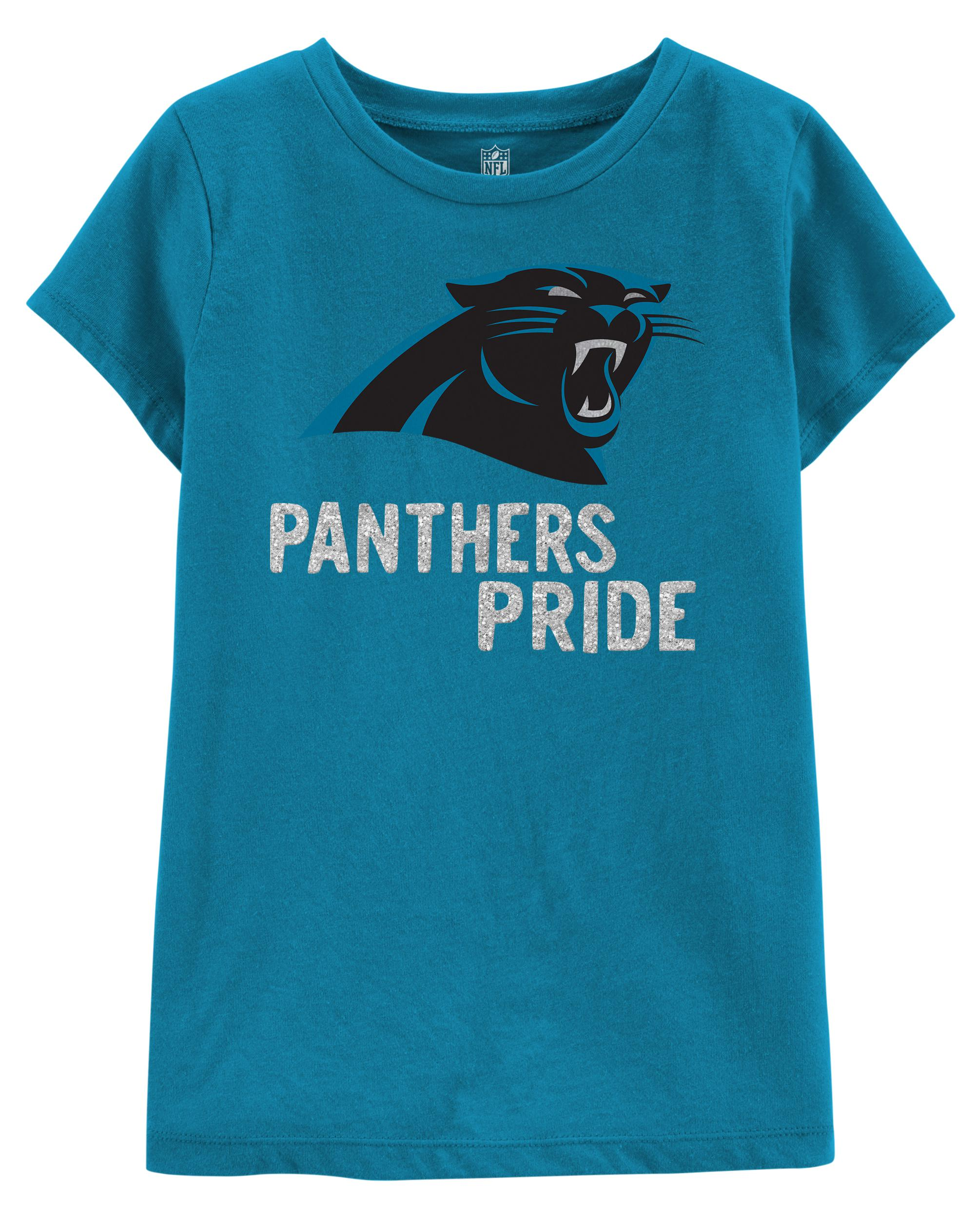 NFL Carolina Panthers Glitter Tee