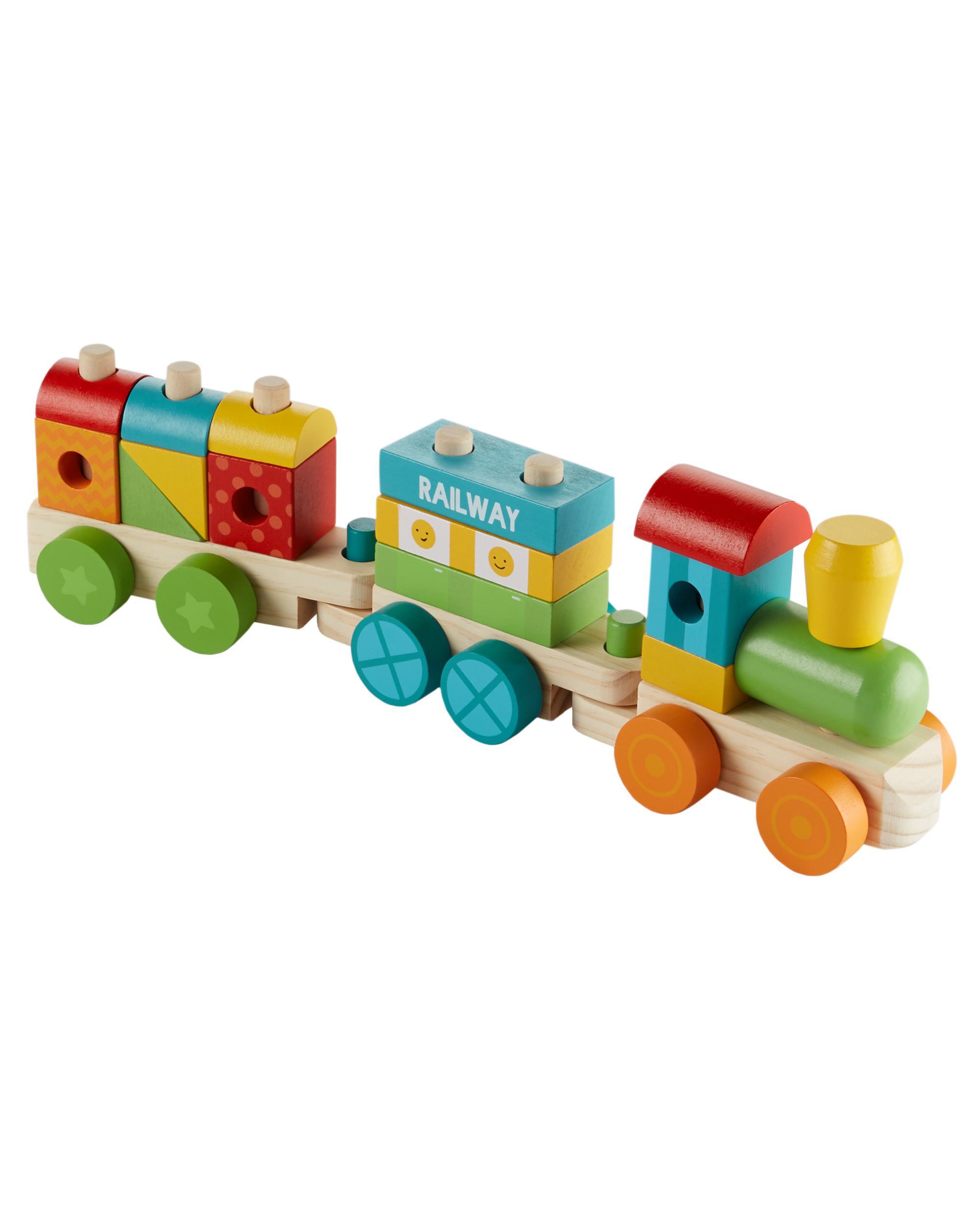 Wooden Train Set Oshkosh Com