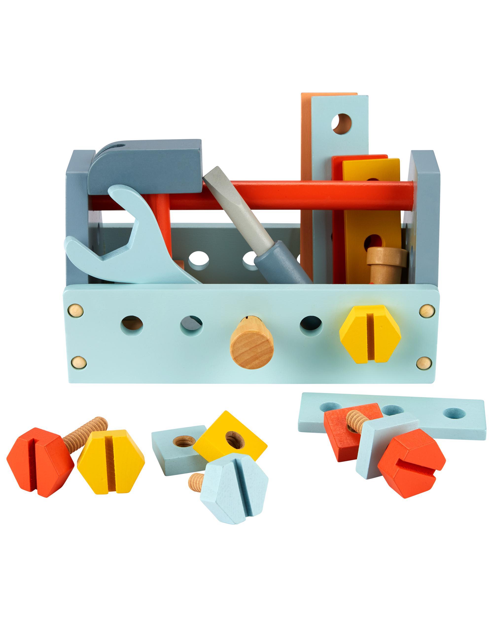 Oshkoshbgosh Wooden Tool Set