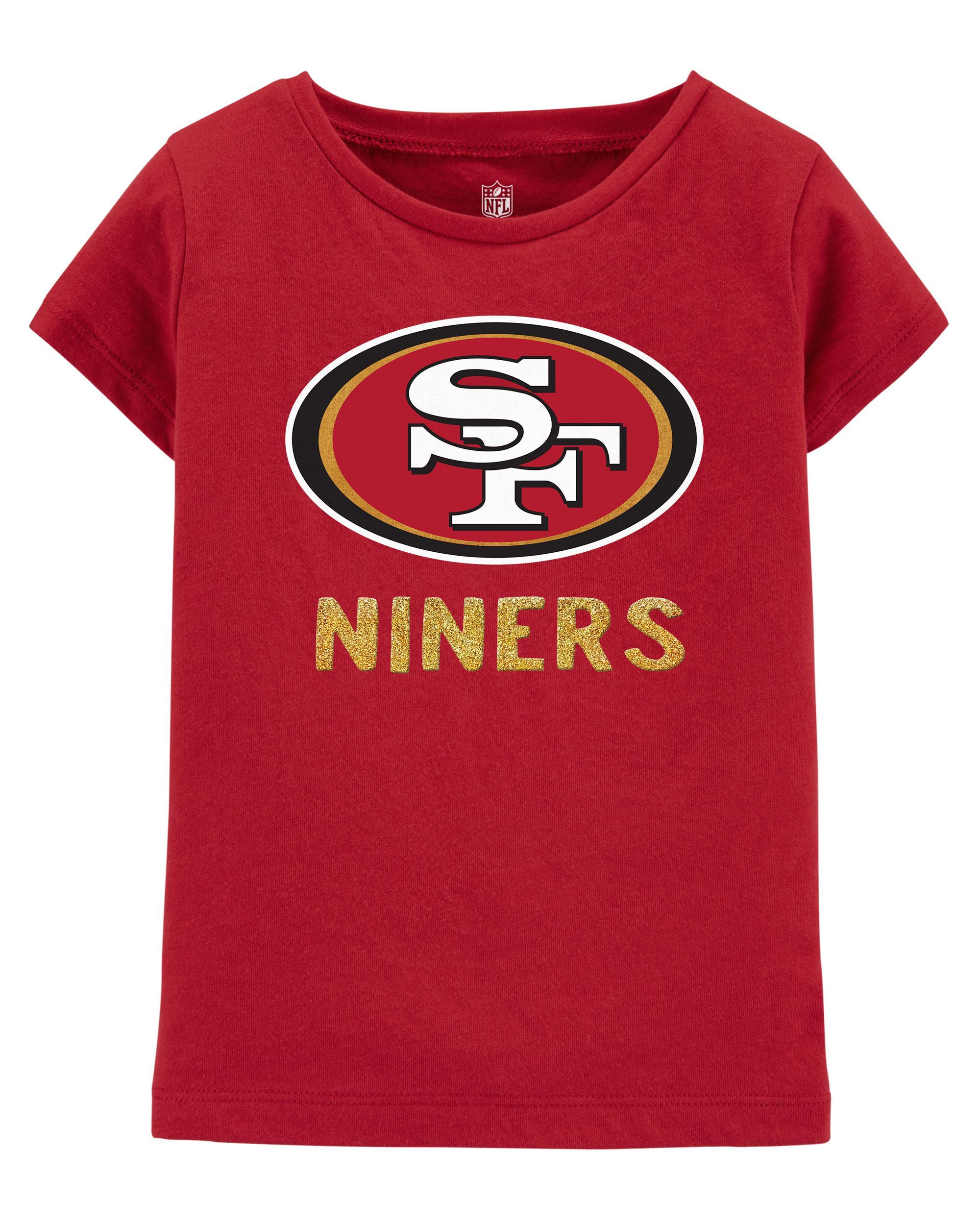 check out d8663 873d1 NFL San Francisco 49ers Glitter Tee | oshkosh.com